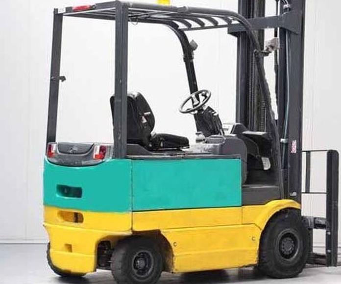 Carretilla eléctrica KOMATSU Nº 6146: Productos y servicios de Comercial Euroyen, S. L.