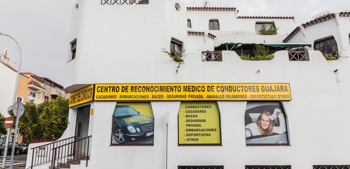 Centro de reconocimiento de conductores en Tenerife