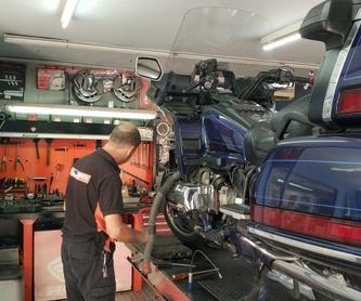 Servicio oficial: Honda, Kymco, SYM: Nuestros Servicios de Vir Motos i Viñals