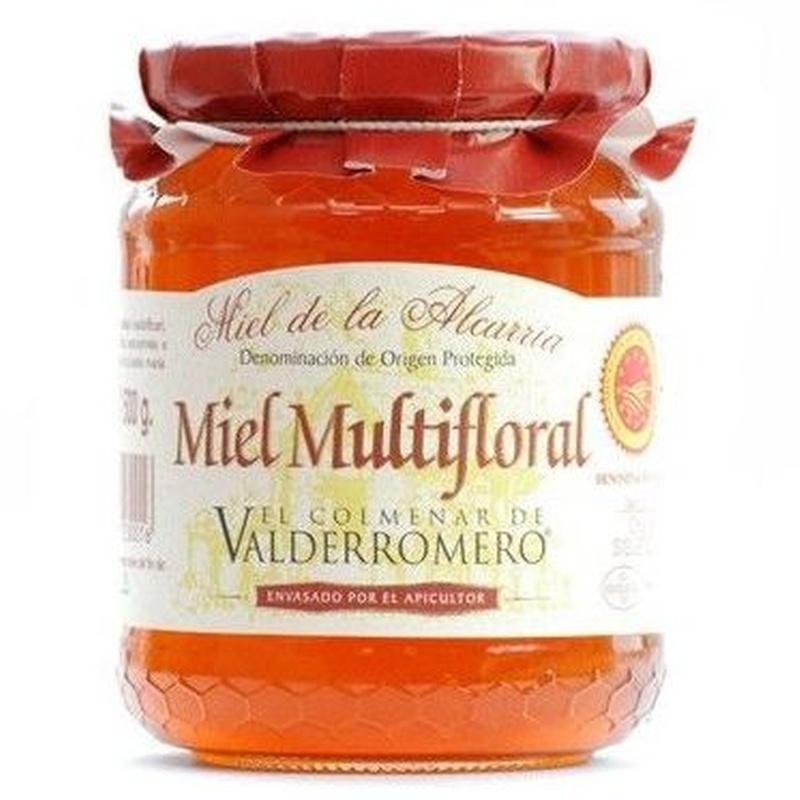 """Miel multifloral """"El Colmenar de Valderromero"""" 500 g: Productos. Acceso On Line de El Colmenar de Valderromero"""