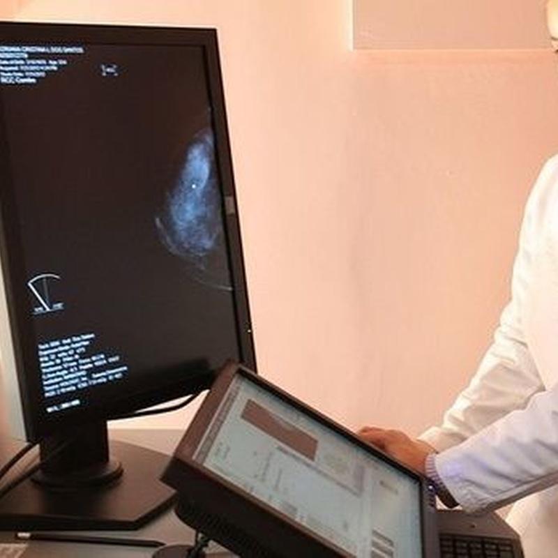 Mamografía: Especialidades de Radiología Arlanzón