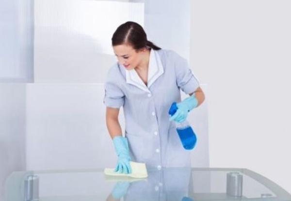 Limpieza de muebles y mamparas