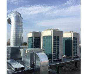 Instalación de aparatos de climtización