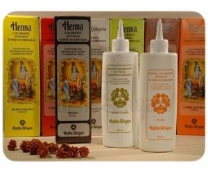 Henna tinte y champus