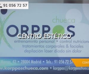 Centro de estética en Chueca | Korppos Chueca