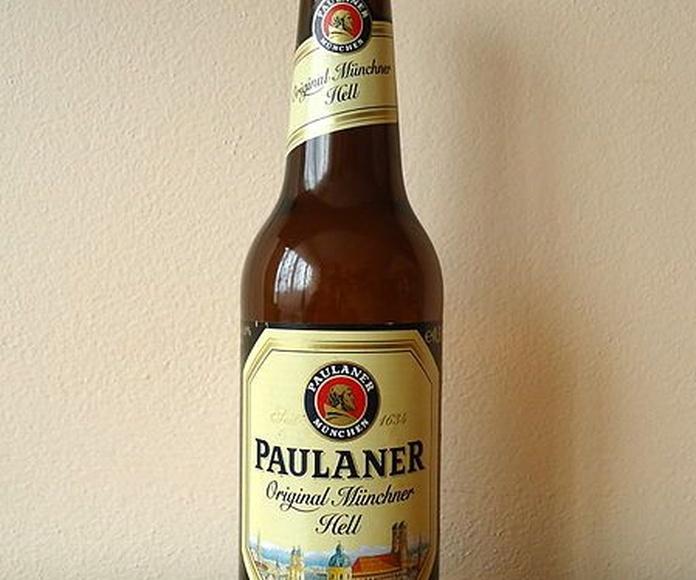 Paulaner Original Müncher: En nuestro local de Cervecería Ca'Melán