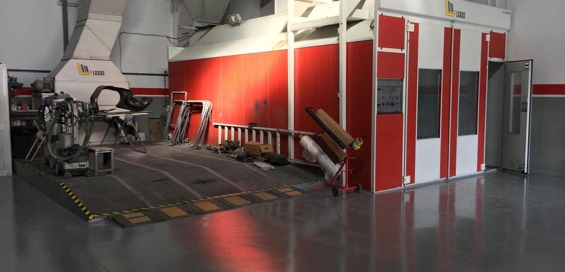 Taller especializado en reparaciones de chapa y pintura en Jerez de la Frontera