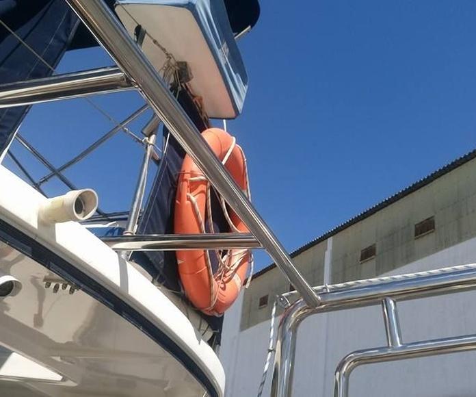 Barandillas para embarcaciones