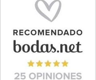 Sello Recomendado 25 Opiniones de parejas de novios por Bodas.net