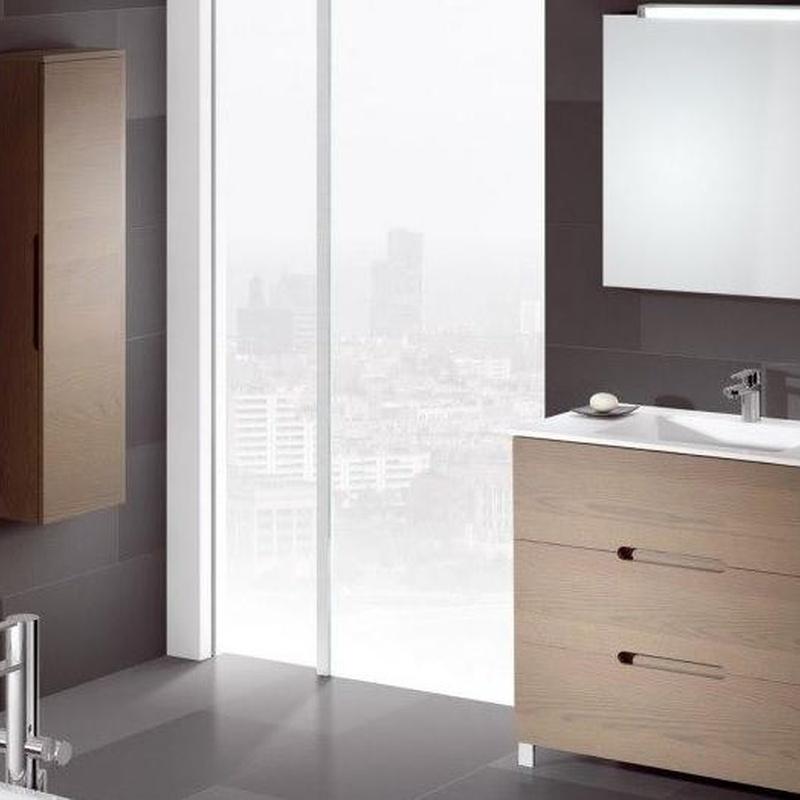 Mueble de baño Vidrebany colección Ambient modelo Three
