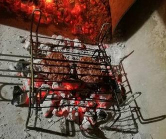 Menú diario y de fin de semana: Especialidades de Restaurante Asador Calar del Mundo