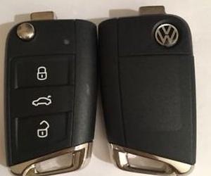 Copia llave con mando VolksWagen
