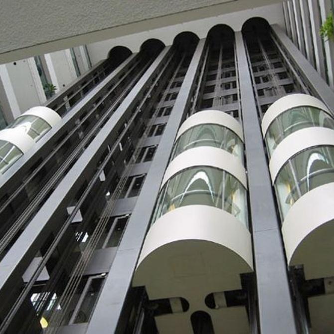 ¿Cómo funciona un ascensor?
