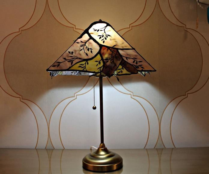 Lámpara contemporánea Tiffany: Artículos  de Ruzafa Vintage