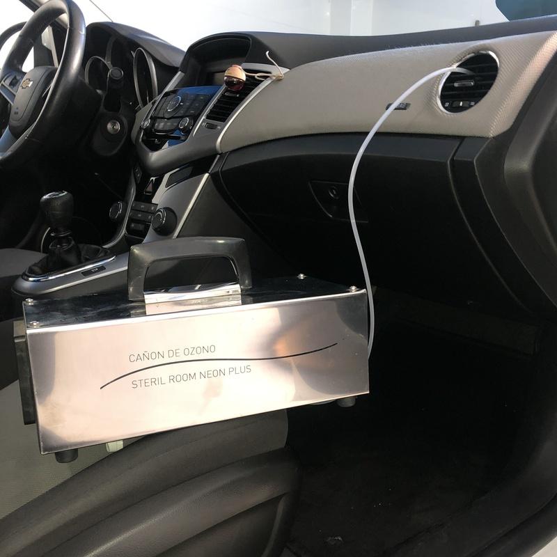 Oferta Tratamiento de ozono + lavado 35€: Servicios de Car Wash Alcorcón