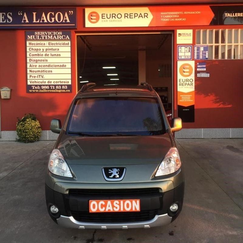 Peugeot Partner 1.6Hdi 90CV: VEHÍCULOS de Ocasión A Lagoa