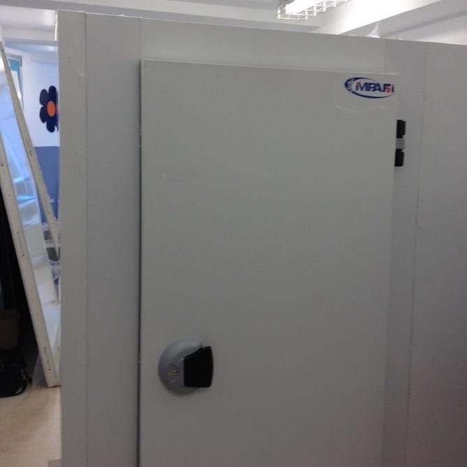 Las cámaras frigoríficas modulares