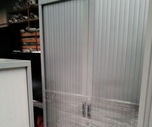 Armario de chapa con puerta de persiana
