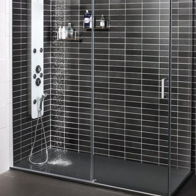Tipos de mamparas para la ducha