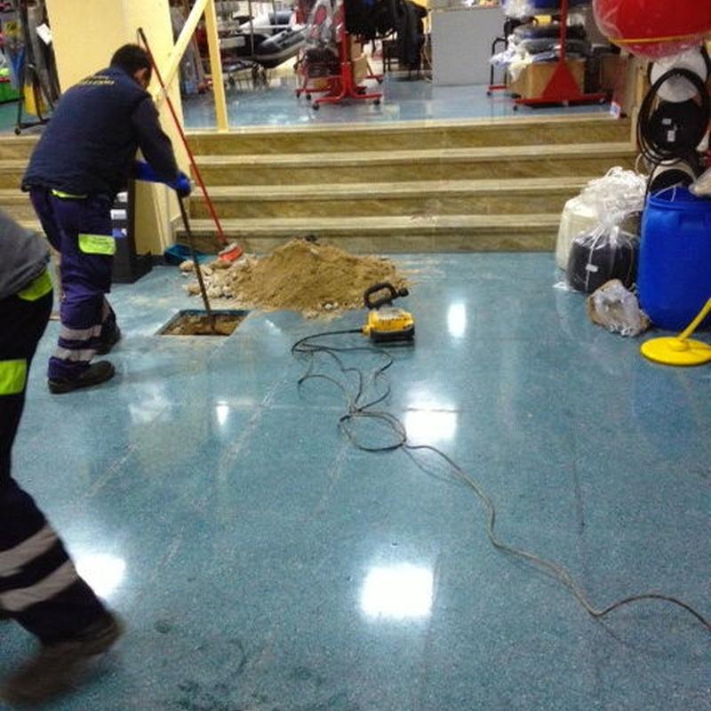 Desatascos y limpieza de tubos y arquetas: Servicios de Pele & Cano Desatascos