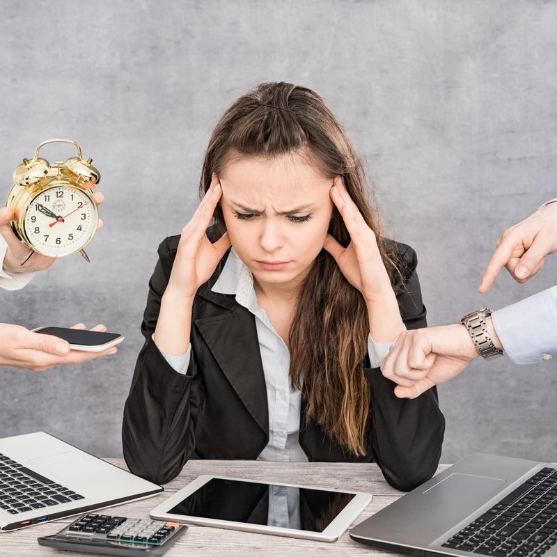 Estrés: Áreas de atención de Centro de psicología Valdepeñas