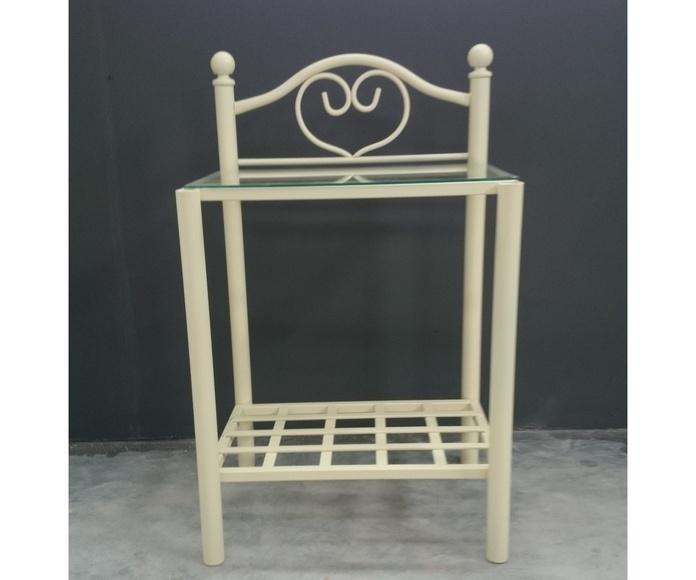 Mesita Corazón: Catálogo de muebles de forja de Forja Manuel Jiménez