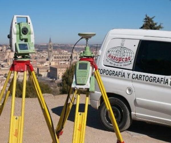 Empresa de topografía y cartografía en Toledo