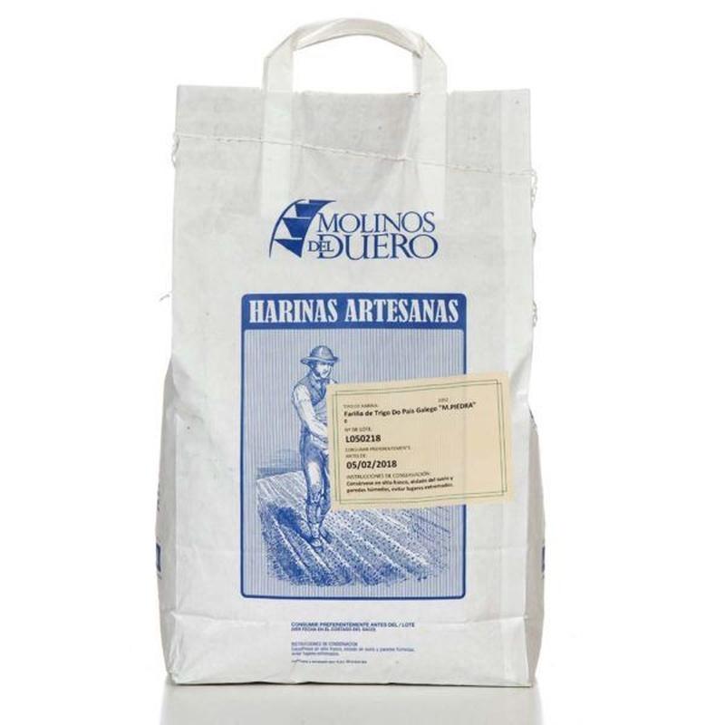 """Harina de trigo """"do país galego"""" molino de piedra 5 kg: Productos de Coperblanc Zamorana"""
