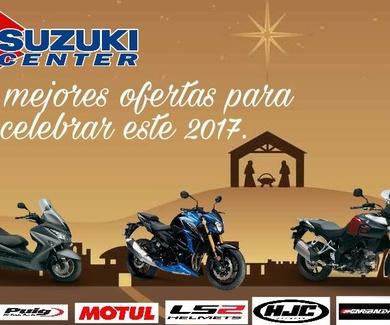 suzuki center y jarama motocicletas feliz año con los mejores precios