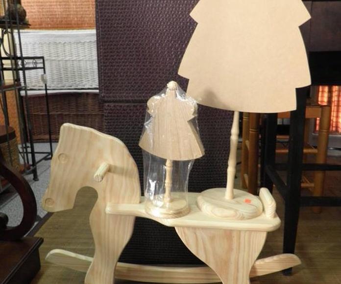 Juguetes de madera: Catalogo de Decoración Vallejo