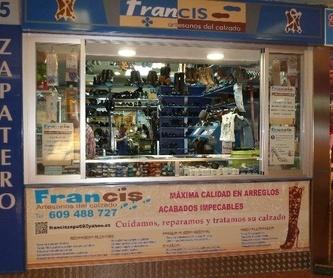 Productos y artículos del calzado: Servicios de Francis Artesanos del Calzado