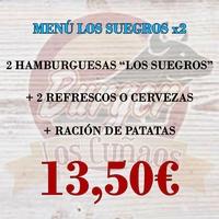 Menú Los Suegros x2