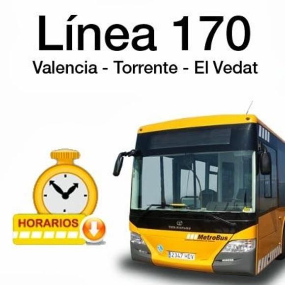 Línea 170:  Valencia-Cumbres: Líneas de Fernánbus