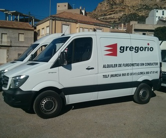 PASSENGER CARS DERIVATES: Catalogue de Gregorio Rent of Vans without driver
