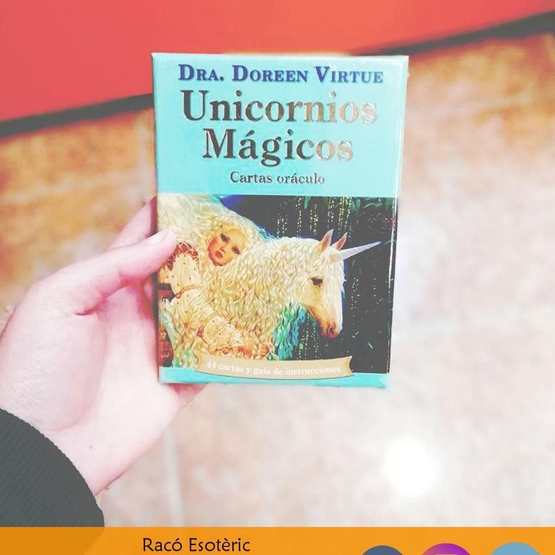 Oraculo Unicornios: Cursos y productos de Racó Esoteric Font de mi Salut