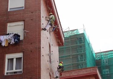 Pintar fachadas en Torrelavega