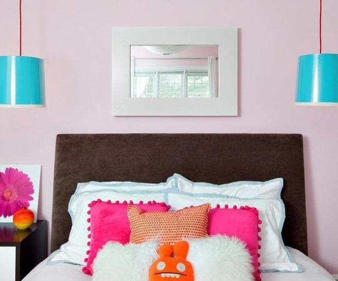 Habitación infantil rosa