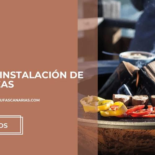 Estufas exteriores en Las Palma | Comercial Muntané