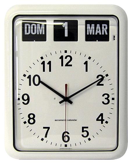 Reloj de pared con calendario Gijón