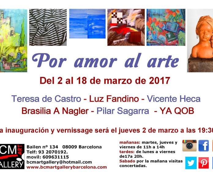 POR AMOR AL ARTE: Exposiciones y artistas  de BCM Art Gallery