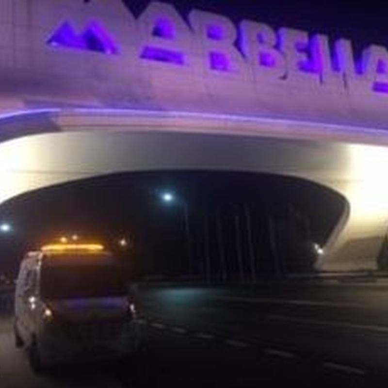Traslado en UVI - MARBELLA - Aeropuerto Adolfo Suarez Madrid-Barajas