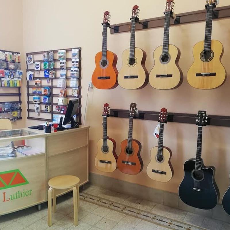 Tienda de instrumentos y accesorios para el músico: Espacio Cultural de Los Menceyatos