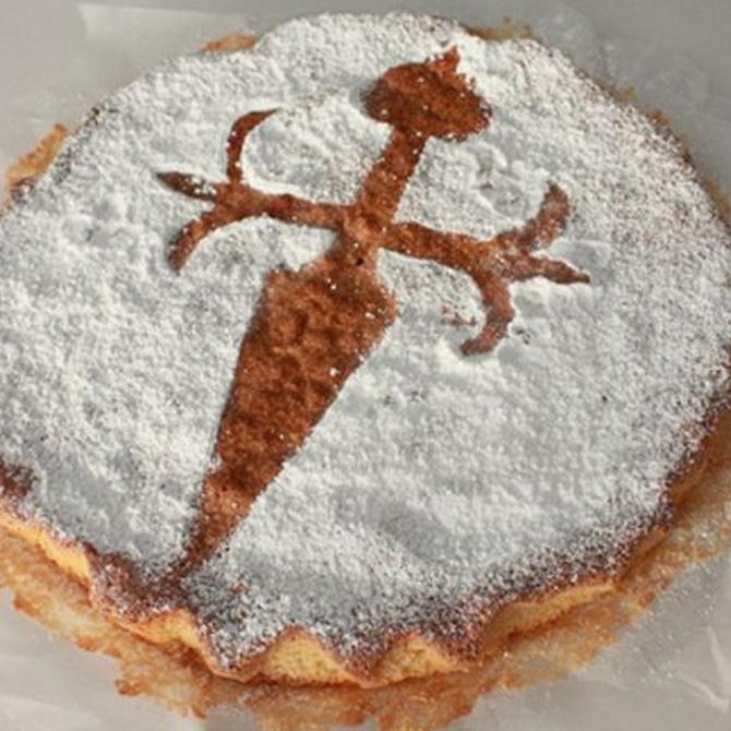 La tarta de Santiago en pocos pasos