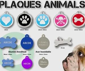 Placas para animales