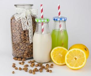 Horchata y limonada frías