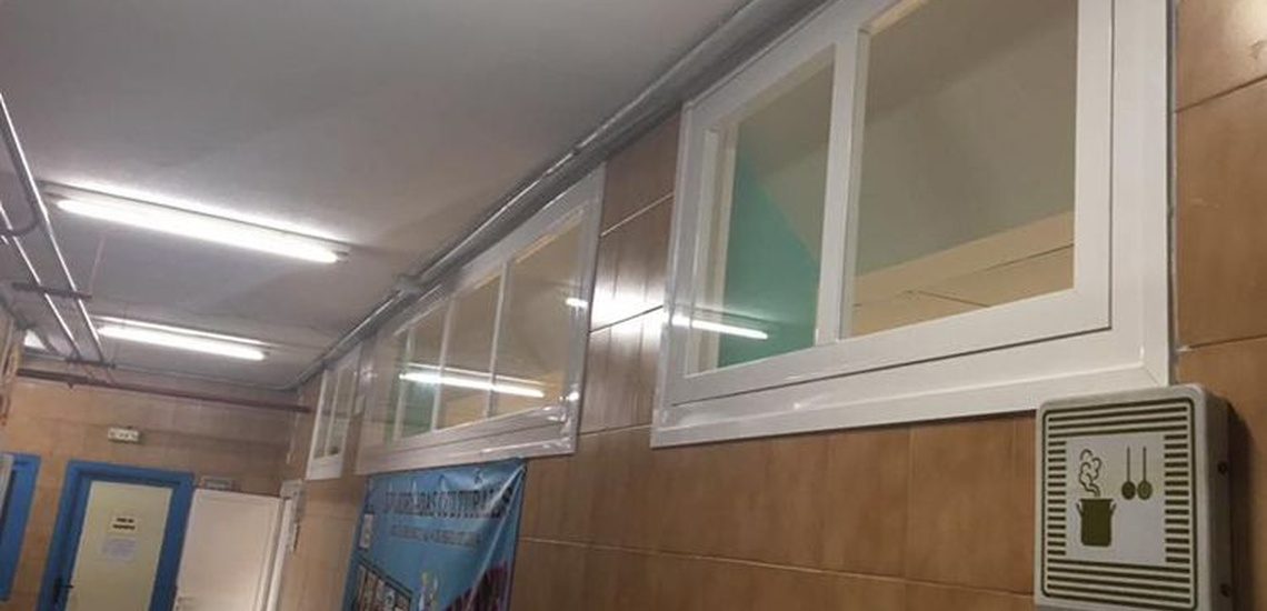 Ventanas y carpintería de aluminio en Getafe