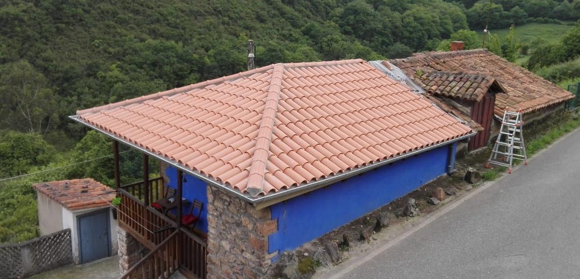 Rehabilitación de tejados en Gijón de cualquier tipo