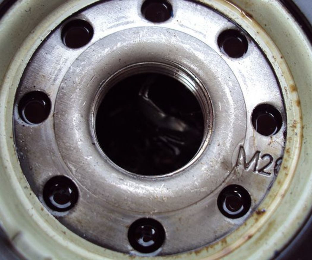 Cambio de aceite y filtro del coche