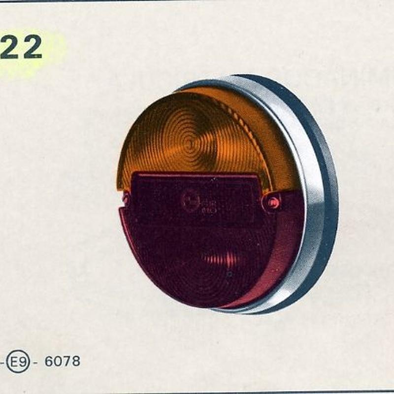 Piloto Trasero Seat 850,Coupe: Catálogo de productos de Accesorios y Recambios Rubí