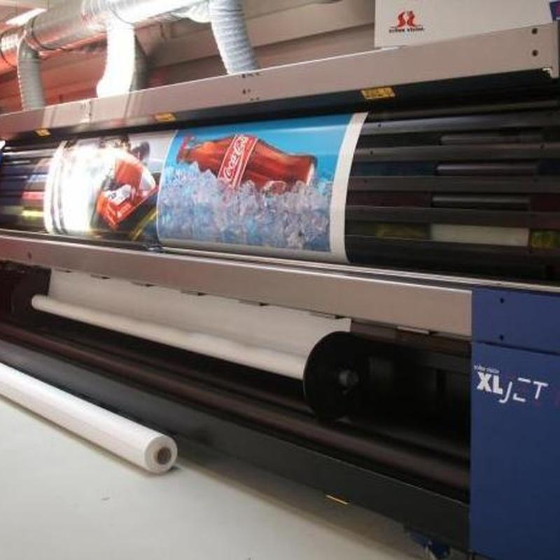 Impresión gran formato: Productos y Servicios de Display Cash & Carry